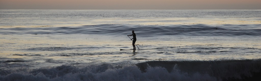 LAGUNA BEACH, California - Paddleboarder. Photo Deborah Jones © 2012