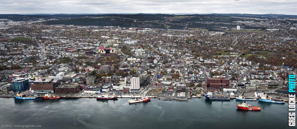 St. John's, Newfoundland harbourfront