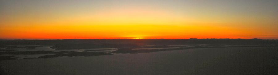 Sun over Greenland