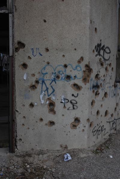 Mostar wall