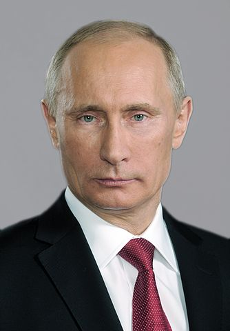 Vladimir Putin, official photo