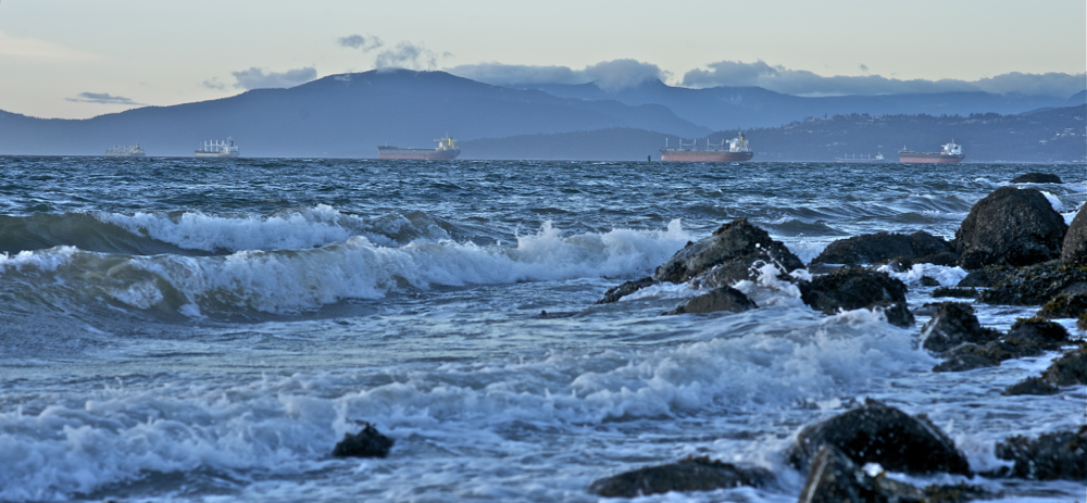 English Bay, Vancouver, British Columbia. © Deborah Jones 2014