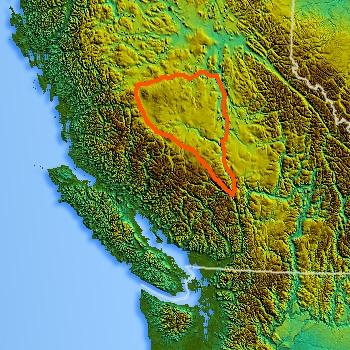 Northwest-relief_ChilcotinPlateau