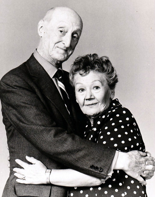 Burt Mustin and Queenie Smith, 1971. NBC publicity photo, Creative Commons