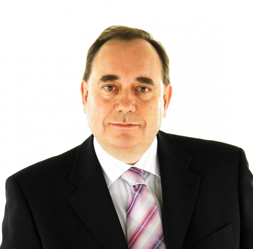 Alex Salmond official photo, supplied by the Scottish Parliament