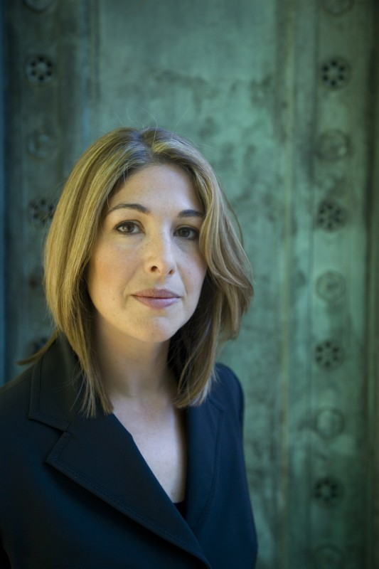 Naomi Klein. Official photo by Ed Kashi.