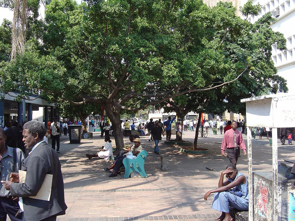 First Street in Harare, Zimbabwe. Photo by Gary Bembridge, Creative Commons
