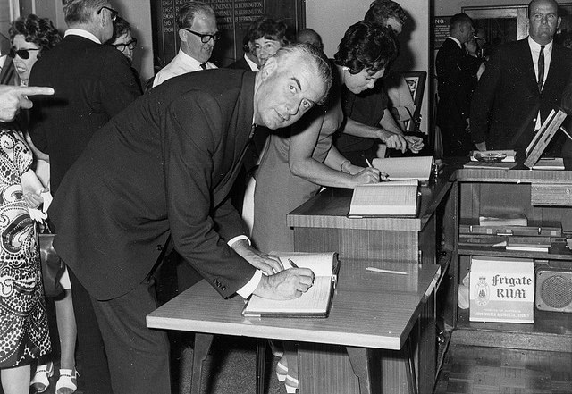 Gough Whitlam in 1968. Photo from Gosford Library collection via Wikipedia