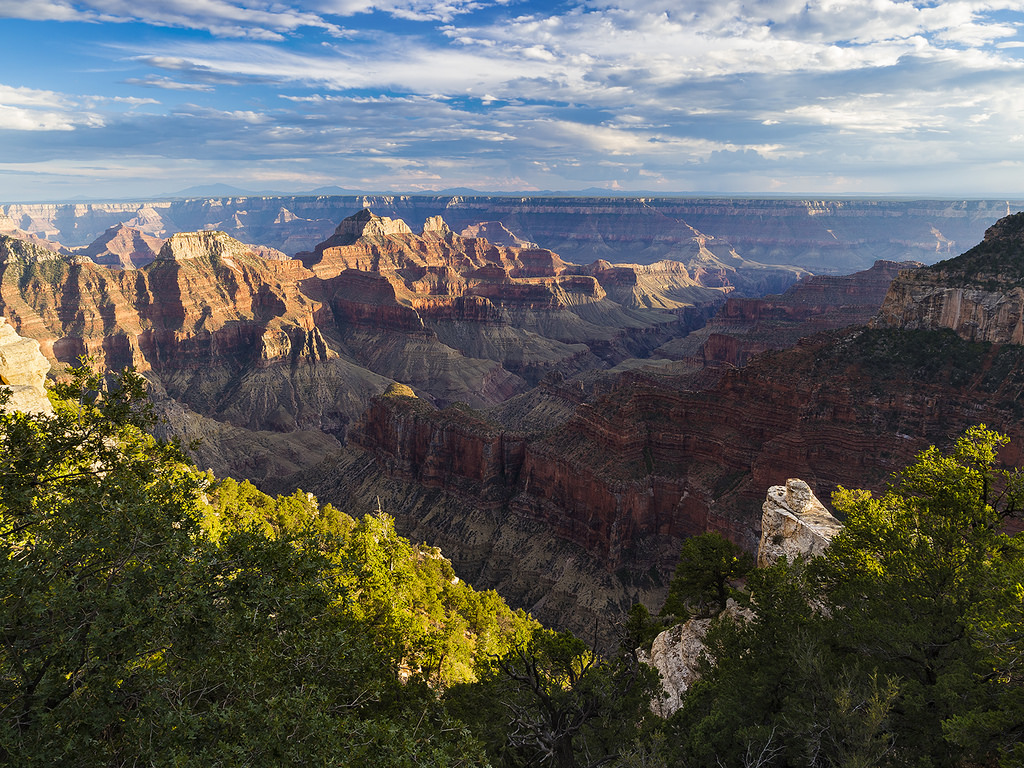 North Rim, Grand Canyon National Park, Arizona, U.S., in September, 2014. Photo by weesam via Flickr, Creative Commons