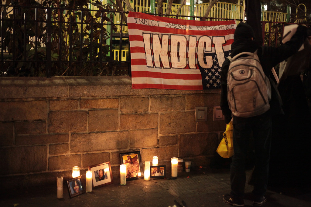 The Grand Jury decision Nov. 24  not to indict Darren Wilson ignited protests in Ferguson, Missouri. Photo by Jesse Chan-Norris via Flickr, Creative Commons