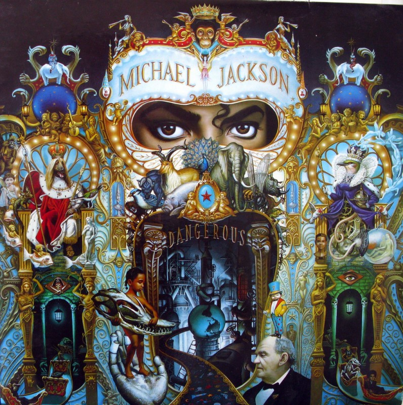 The cover of Michael Jackson's album Dangerous was by artist Mark Ryden. Photo by Tilemahos Efthimiadis via Flickr, Creative Commons