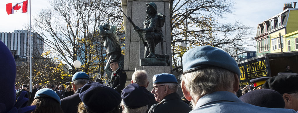 Remembrance Day in St. John's, Newfoundland. © Greg Locke 2014