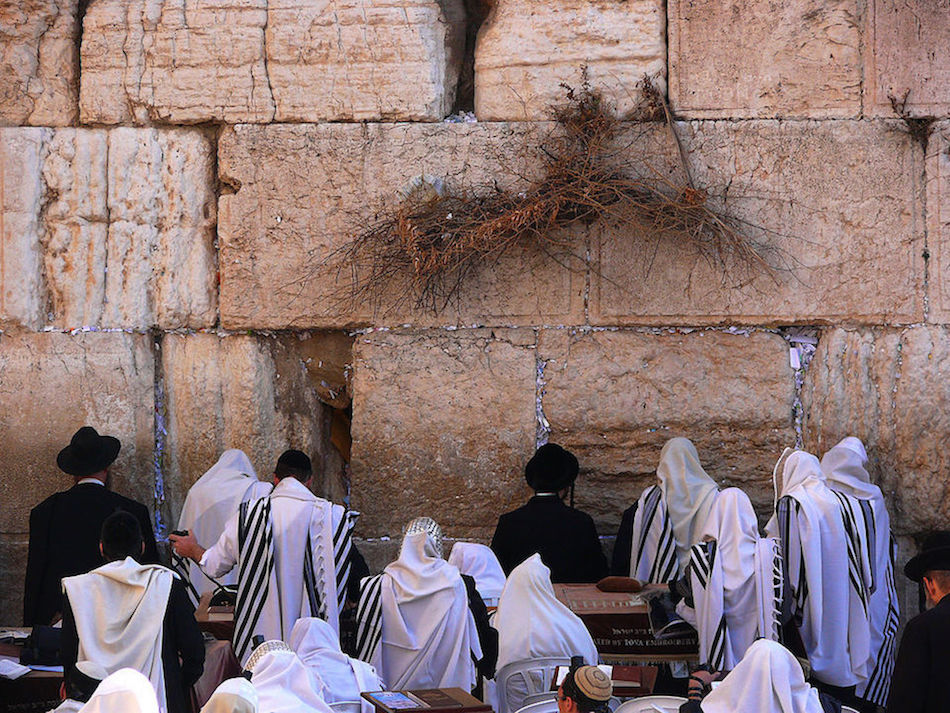 Jersualem's Western Wall, or wailing wall, and the adjacent Temple Mount are Judaism's most sacred spaces. ZACHI EVENOR/CREATIVE COMMONS