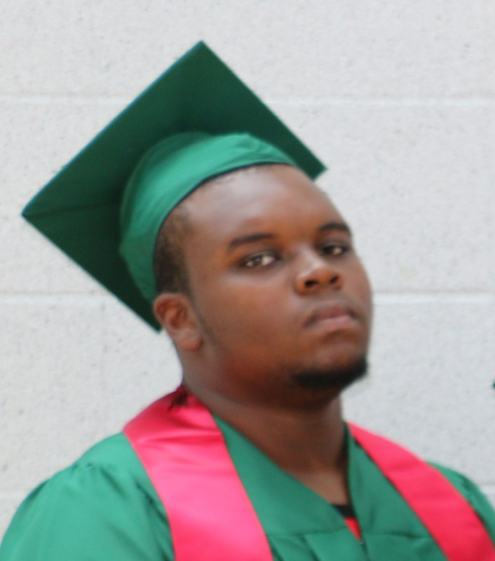 Michael Brown at his high school graduation, shortly before he was killed. Photo from St. Louis Public Radio