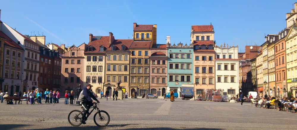 Old Town Square in Warsaw, in 2012. Photo by Eirik Newth via Flickr, Creative Commons