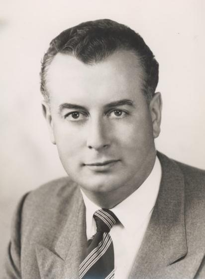 Gough Whitlam, 1955. Australian Parliamentary Library photo