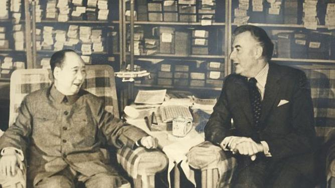 Gough Whitlam meeting Chairman Mao, Beijing, November 1973 Whitlam Institute