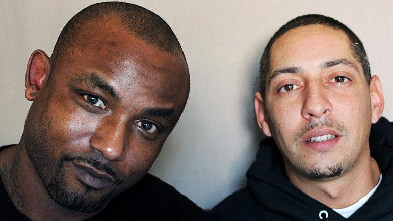 Maurice Rowland and Miguel Alvarez. NPR Photo