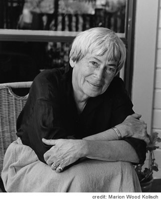 Ursula K. Le Guin. Photo by Marion Wood Kolisch/National Book Foundation