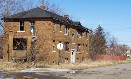 Secondary photo, abandoned Detroit residences picture play