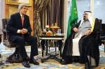 U.S. State Secretary John Kerry, left, King Abdullah of Saudi Arabia, Jan. 5, 2014.