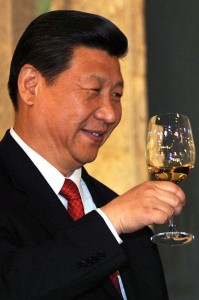 China's top leaders have directed the party and state response to work stoppages. Xi Jinping, Chinese president and CP leader, is   intolerant of dissent and inclined to silence it with violence. Angélica Rivera Hurtado, Mexico's first lady, photographed Xi when he visited her country in 2013. WIKIMEDIA COMMONS