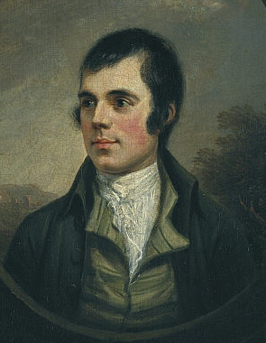 Portrait of Robert Burns by Alexander Nasmyth, 1787