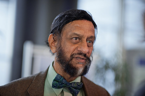 Rajendra Pachauri: Photo © European Union 2014 - European Parliament. Creative Commons