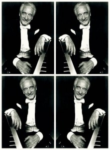 This Victor Borge combination was created in February, 2015 by Mike Sasges from an undated image of the pianist and comedian and for a Brian Brennan column.