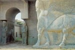 Nimrud Lamassu's at the North West Palace of Ashurnasirpal, Iraq. Photo: UNESCO