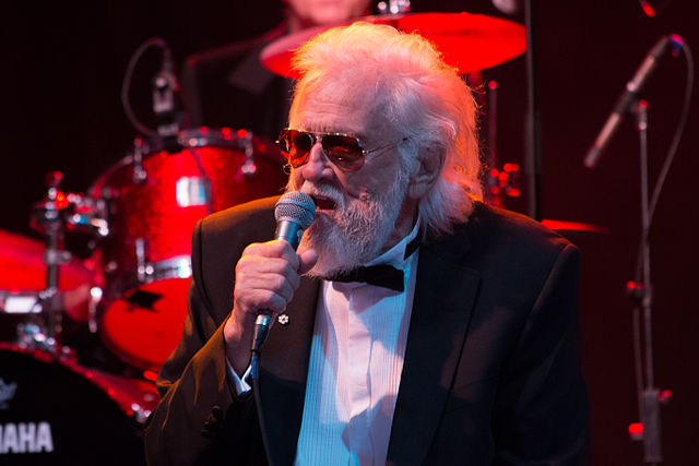 """""""Ronnie Hawkins"""" by Tabercil - Own work. Licensed under CC BY-SA 3.0 via Wikimedia Commons - http://commons.wikimedia.org/wiki/File:Ronnie_Hawkins.jpg#/media/File:Ronnie_Hawkins.jpg"""