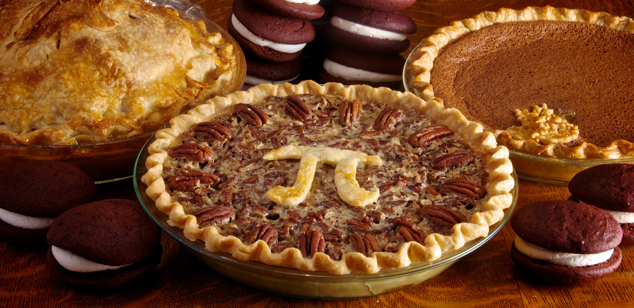 Pi Day fare. Photo by Dennis Wilkinson via Flickr, Creative Commons
