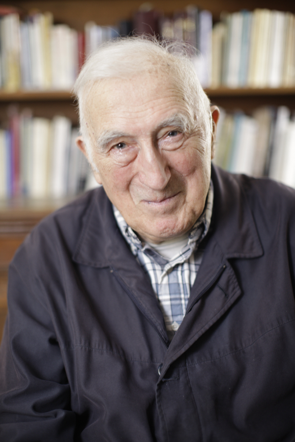 Jean Vanier, founder of L'Arch, and recipient of the 2015 Templeton Prize. Photo via the Templeton Foundation