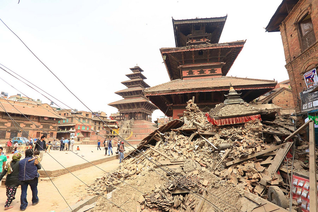 Bhaktapur, Nepal, in the wake of the April 25 earthquake. Photo: Laxmi Prasad Ngakhusi/UNDP