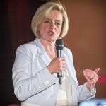 Alberta NDP leader Rachel Notley, on May 3. Photo: Don Voaklander, creative commons