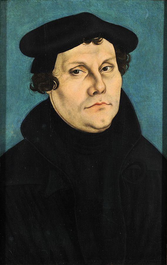 Martin Luther, 1528. Artist:  von Lucas Cranach der Ältere