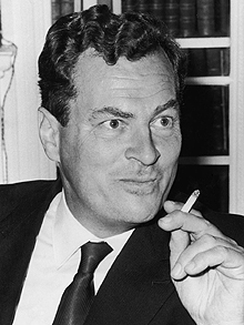 Traveler, writer, soldier, scholar Patrick Leigh Fermor, in April, 1966. Photo: Evening Standard/Hulton Archive/Getty Images