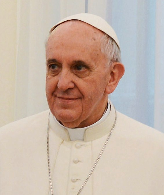 Pope Francis. Photo presidencia.gov.ar