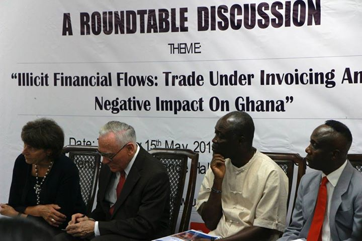"Delegates at a Global Financial Integrity conference, ""Hiding in Plain Sight,"" in Accra, Ghana, in May. Photo: GFI Facebook page"