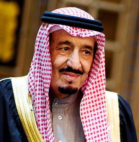King Salman of Saudi Arabia. Photo by  Photo by Erin A. Kirk-Cuomo, U.S. Secretary of Defence, Public Domain
