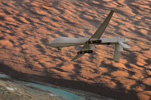 U.S. Air Force MQ-1 Lethal Presence. Photo by Lt Col Leslie Pratt