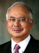 Najib Razak, official Malaysian government photo.