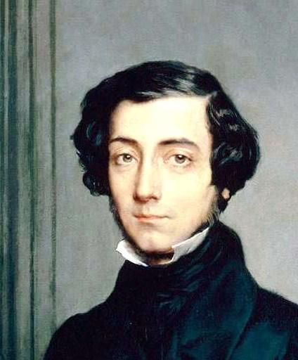 Alexis de Tocqueville. Artist: Théodore Chassériau  1819–1856