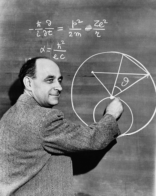Enrico Fermi. Photo courtesy Argonne National Laboratory.