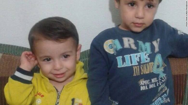 Alan and x Kurdi. Photo from Facebook page In Memory of Kurdi Family