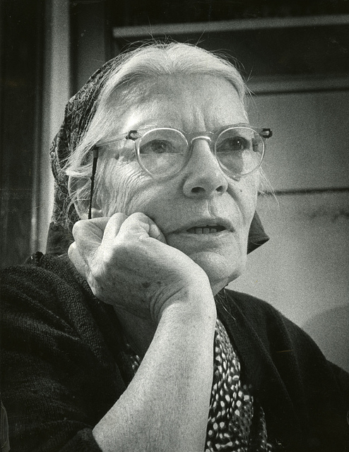 Dorothy Day in 1968. Photo by the Milwaukee Journal via Flickr, Creative Commons