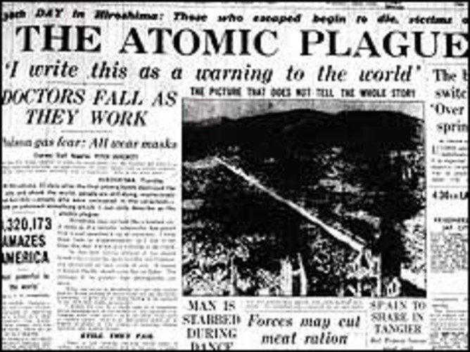 Wilfred Burchett's report on Hiroshima. Honest History