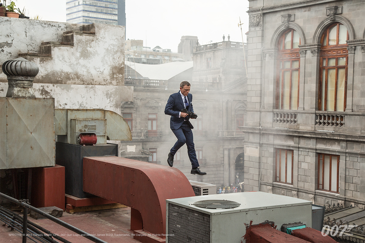 Spectre movie, publicity photo