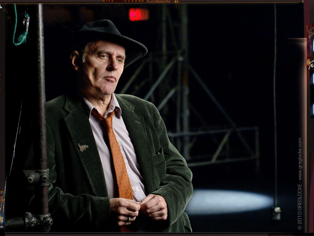 Ron Hynes photographed by Greg Locke