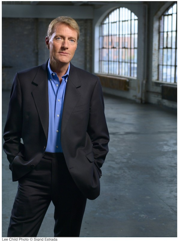 Lee Child. Photo courtesy of author, © Sigrid Estrada